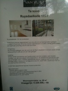 Flat for Sale in Amsterdam