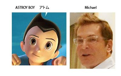 astro boy michael