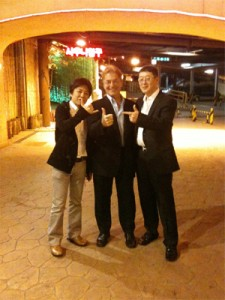 Korea with Dr. Lee , Dr Cuvo